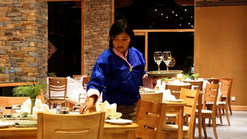 Bhutan-Paro-Hotel-Naksel Resort-Restaurant