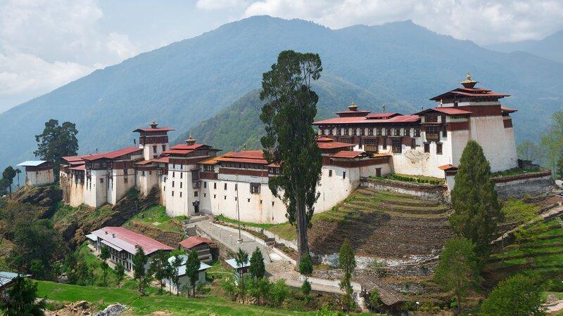 Bhutan-Trongsa-hoogtepunt-Trongsa Dzong