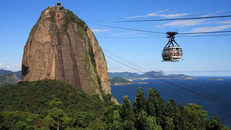 Braziliaanse samba en tropische sferen