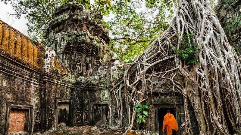 Amazing familiereis in Cambodja