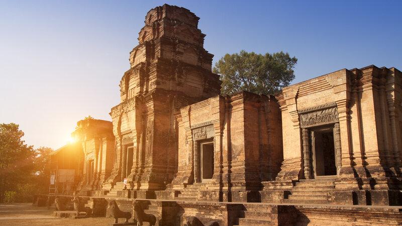 Cambodja-Siem Reap-Hoogtepunt-Ankor Wat2