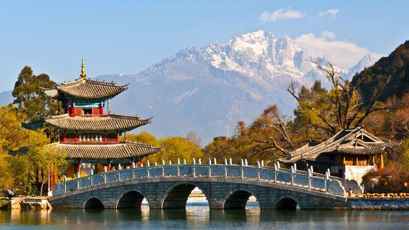 China-Yunnan-hoogtepunt-black dragon pool
