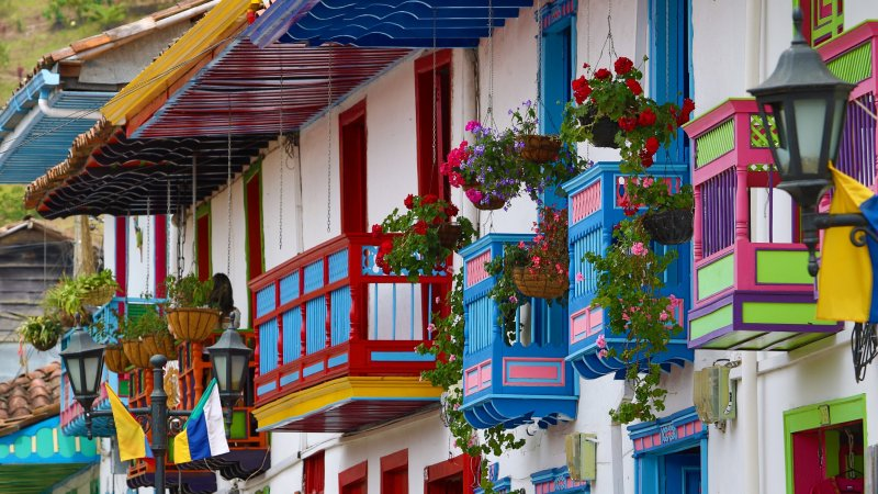 Colombiaanse pracht en praal