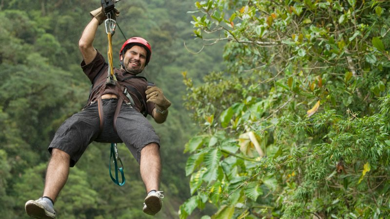 Costa rica - Canopy tour - deathride - Arenal - monteverde (1)