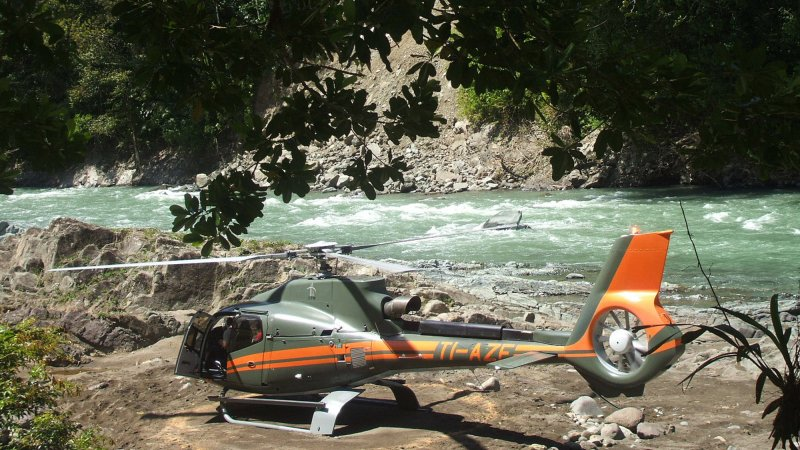 Costa-Rica-Pacuare-Hotel-Pacuare-Lodge-helikopter