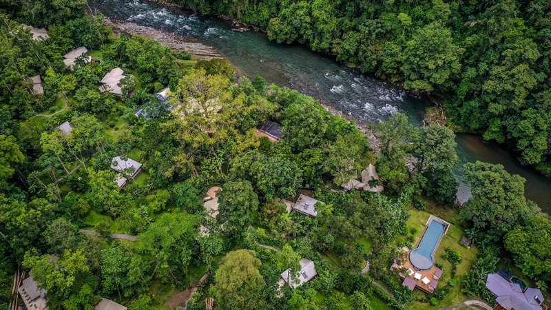 Costa-Rica-Pacuare-Hotel-Pacuare-Lodge-luchtfoto