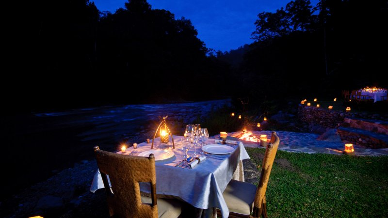 Costa-Rica-Pacuare-Hotel-Pacuare-Lodge-romantisch-diner