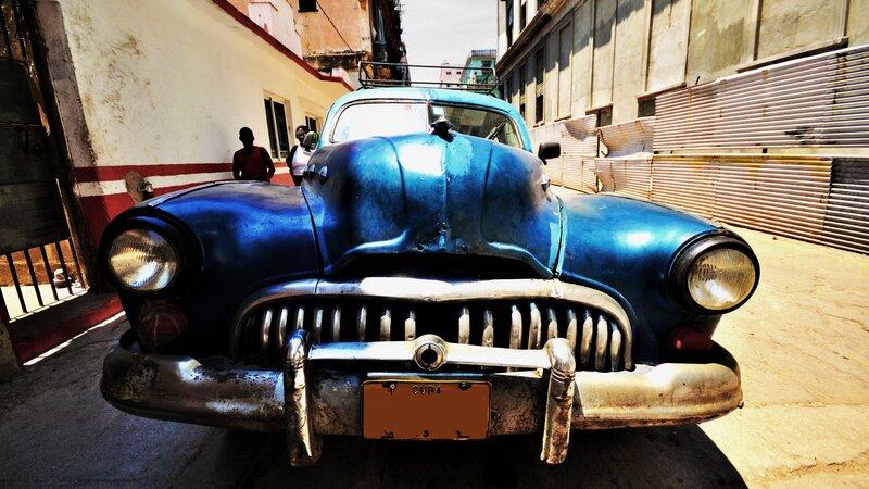 Cuba - vintage auto
