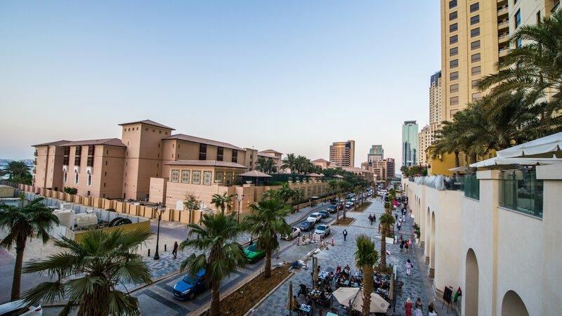 Dubai-Jumeirah walk