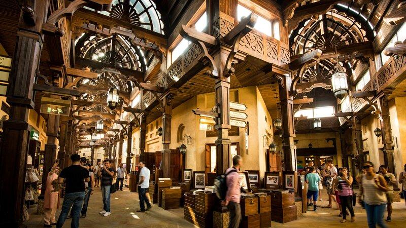 Dubai-souks