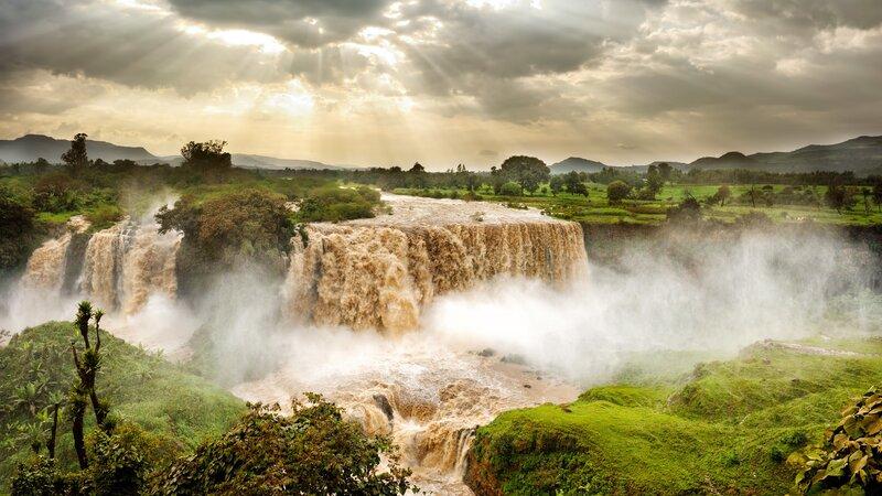 Ethiopië-Bahir Dar-Blue Nile Falls