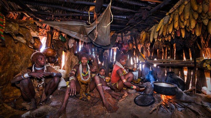 Ethiopië-Omo vallei-Dimeka vallei