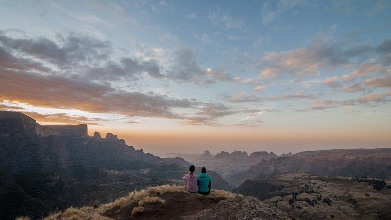 Ethiopië-Simien gebergte-koppel