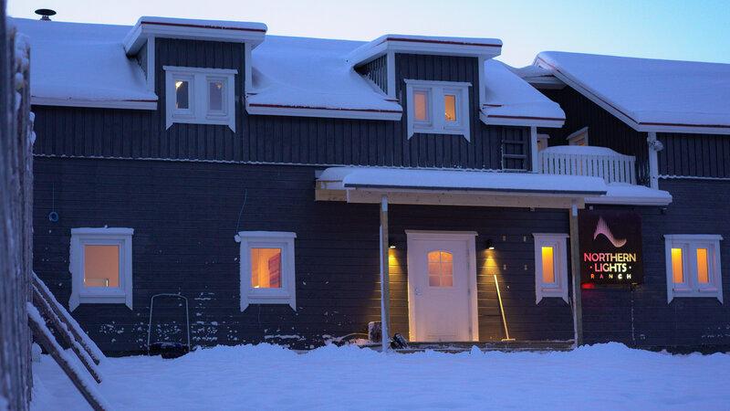 Finland-Lapland-Levi-Kongas-Northern-Lights-Ranch-hoofdgebouw