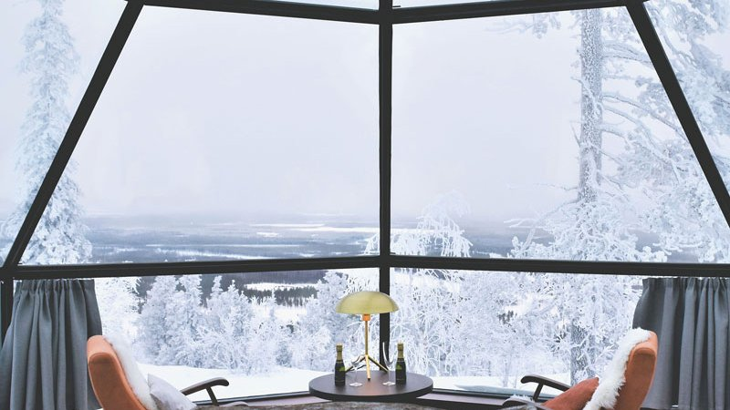 Finland-Lapland-Levi-levin-iglut-golden-crown-prime-superior-igloo