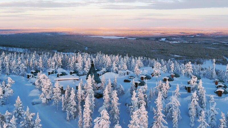 Finland-Lapland-Levi-levin-iglut-golden-crown-uitzicht