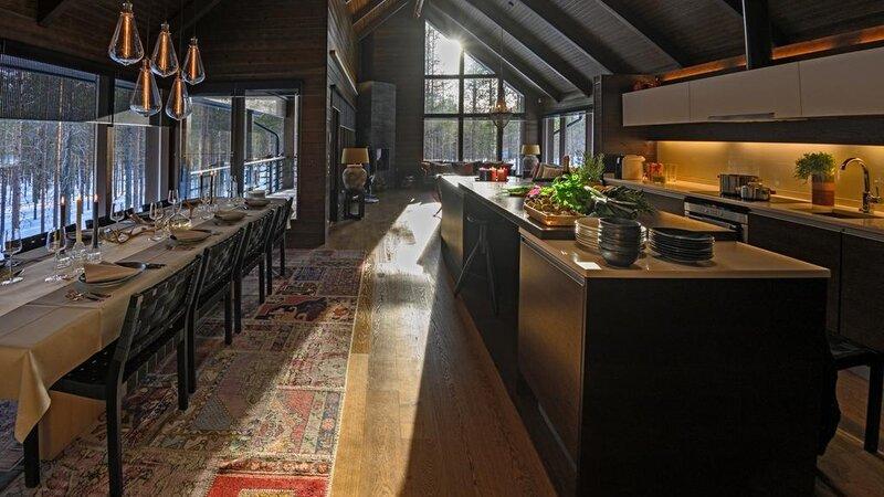 Finland-Lapland-Levi-Spirit-Villas-keuken-benedenverdieping