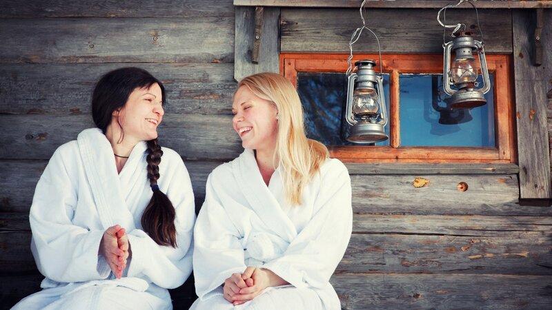 Amazing friends in Fins Lapland