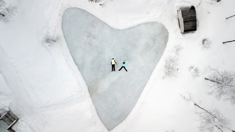 Amazing honeymoon in Fins Lapland