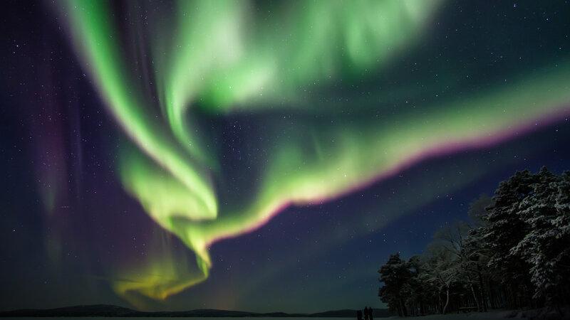 Finland-Lapland-Saariselka-Javri-Lodge-noorderlicht