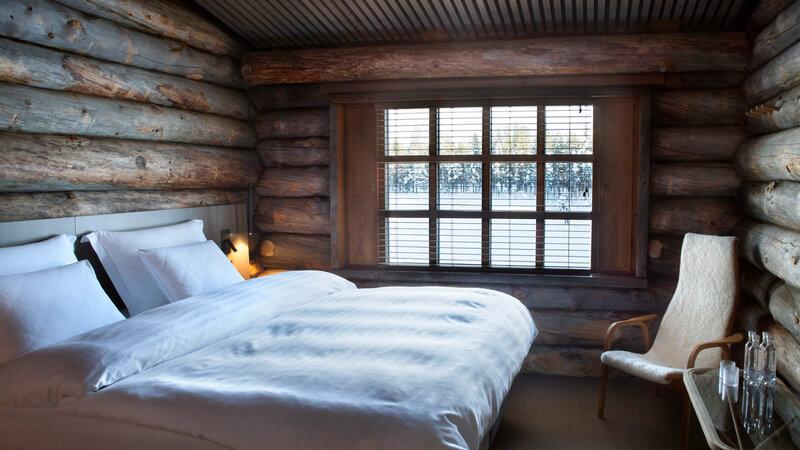 Finland-Lapland-Saariselka-Javri-Lodge-slaapkamer-cosy-double