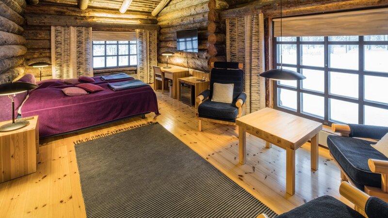 Finland-Lapland-Yllas-L7-Luxury-Lodge-slaapkamer