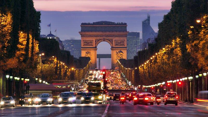 Frankrijk-Parijs-Champs Elyzees