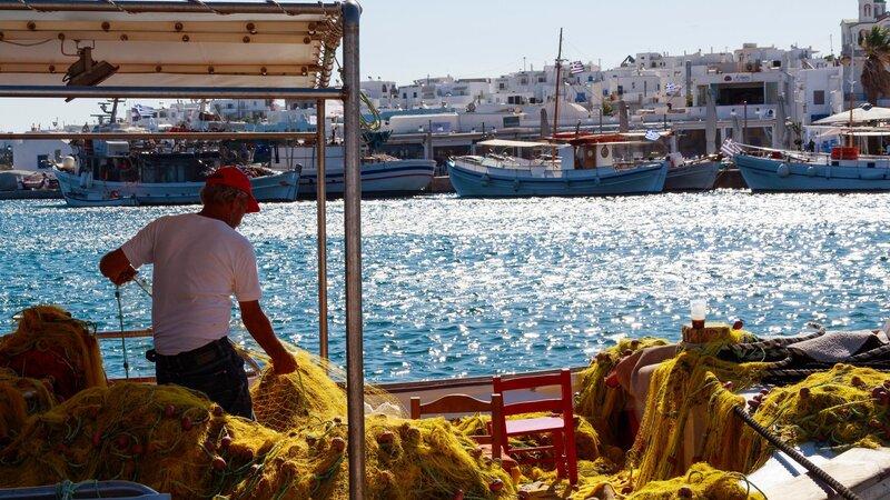 Griekenland-Paros-streek 2