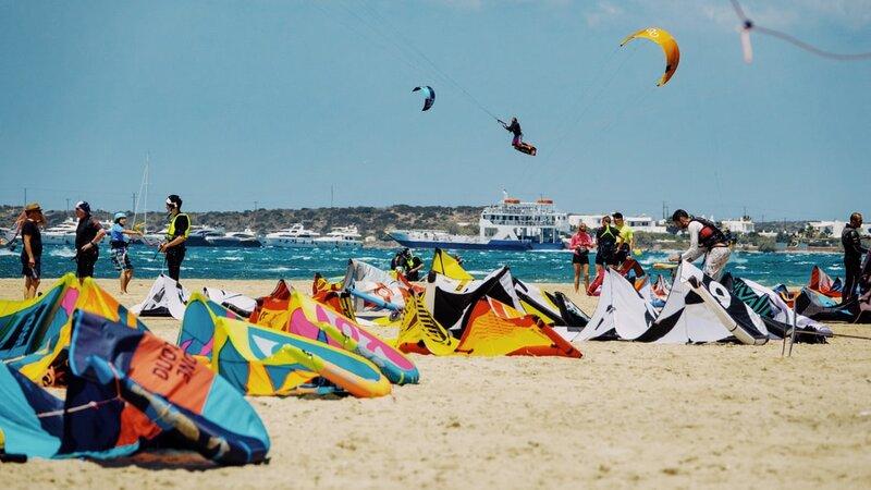 Griekenland-Paros-streek-kitesurfen