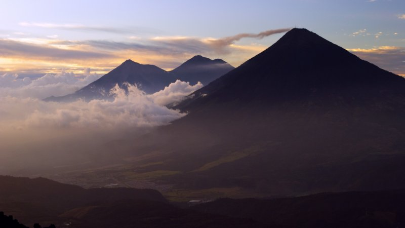 Guatemala - Escuintla - Pacaya vulkaan (3)