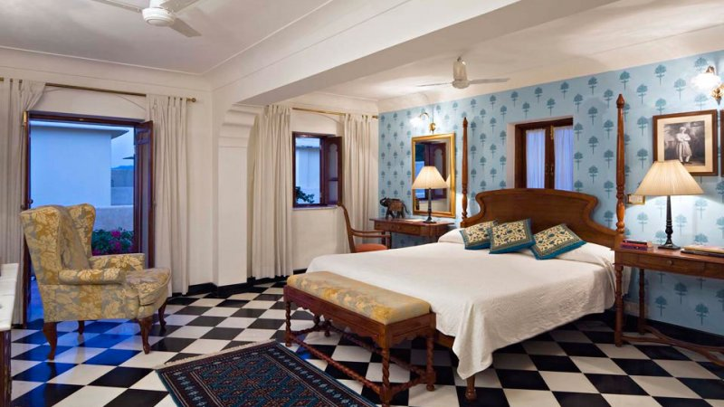 India-Jaipur-Samode Haveli Hotel3