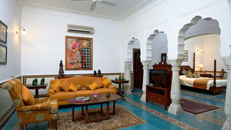 India-Jaipur-Samode Haveli Hotel4