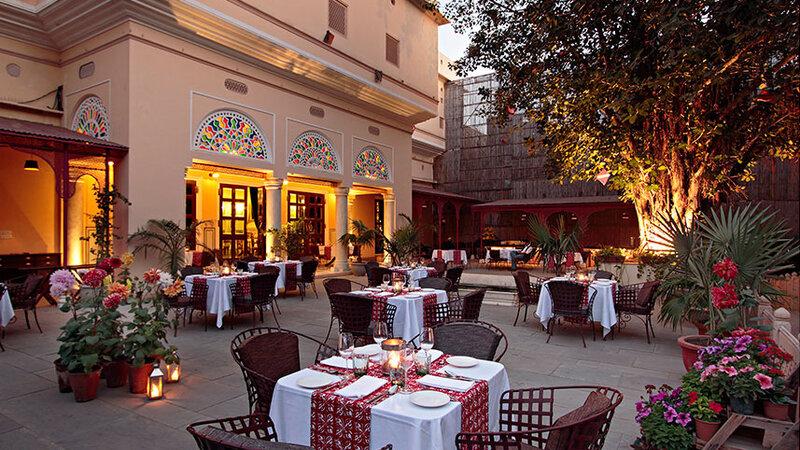India-Jaipur-Samode Haveli Hotel5