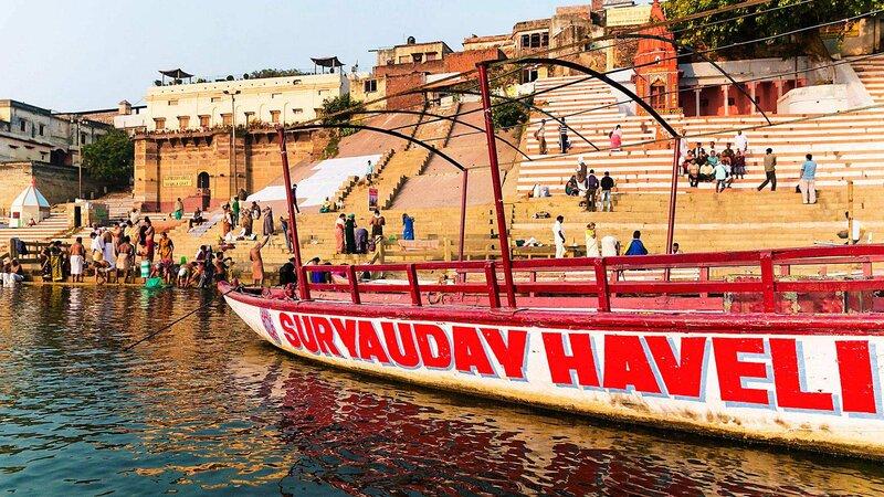 India-Varanasi-Hotel Suryauday Haveli 5