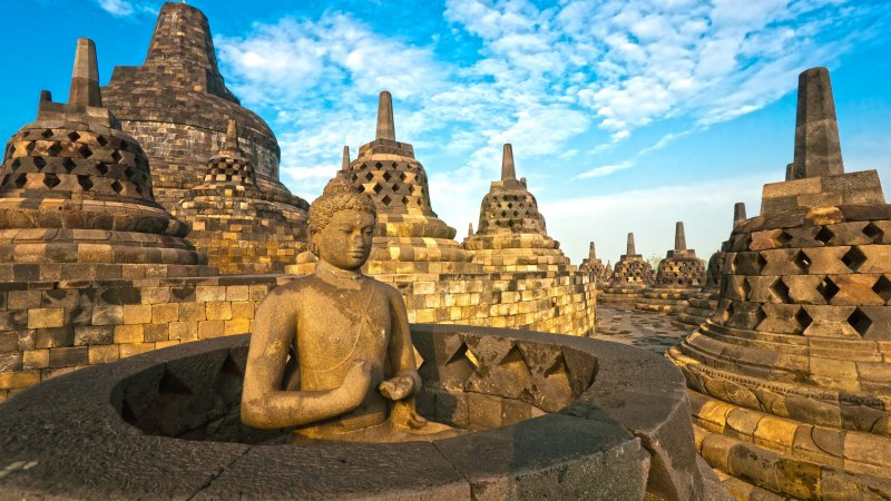 Indonesië-Java-Borobudur