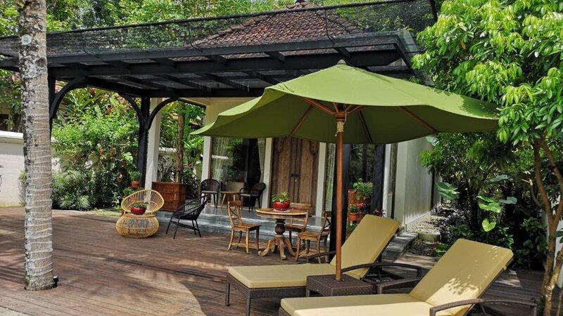 Indonesië-Java-Borobudur-Plataran-Borobudur-ligbedden