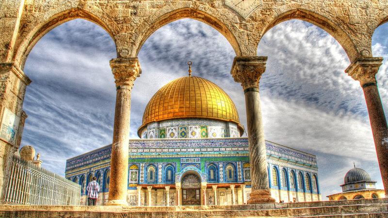 Israël-Jeruzalem-oude stad