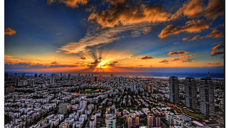 Israël-Tel Aviv-hoogtepunt