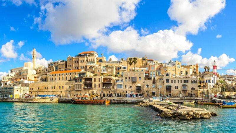 Israël-Tel Aviv-hoogtepunt-oude stad Jaffa