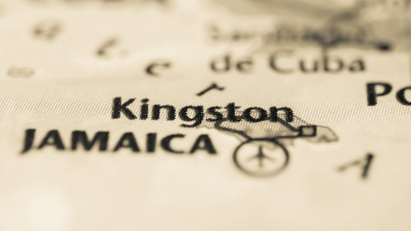 Jamaica-kingston map