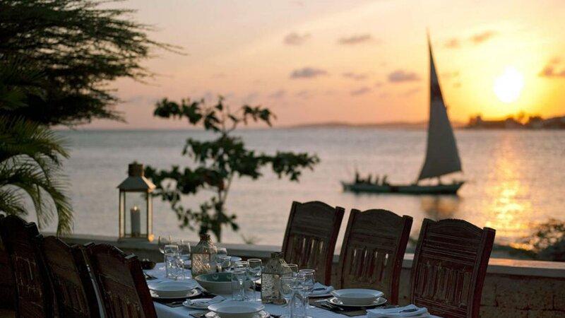 Kenia-Lamu-Majlis Resort-diner