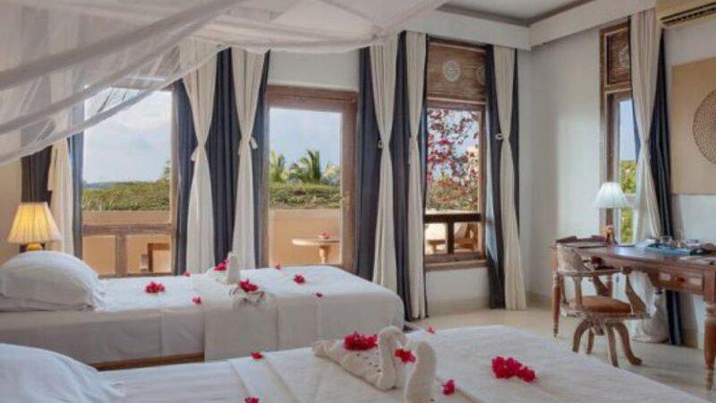 Kenia-Lamu-Majlis Resort-kamer honeymoon