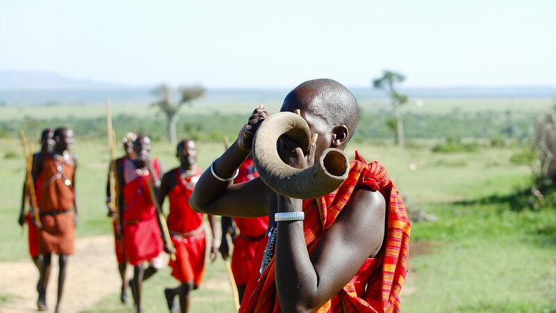 Kenia-Masai krijgers-hoogtepunt