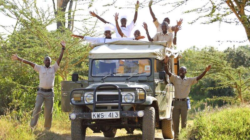 Kenia-Ol Pejeta-Ol Pejeta Bush Camp-team