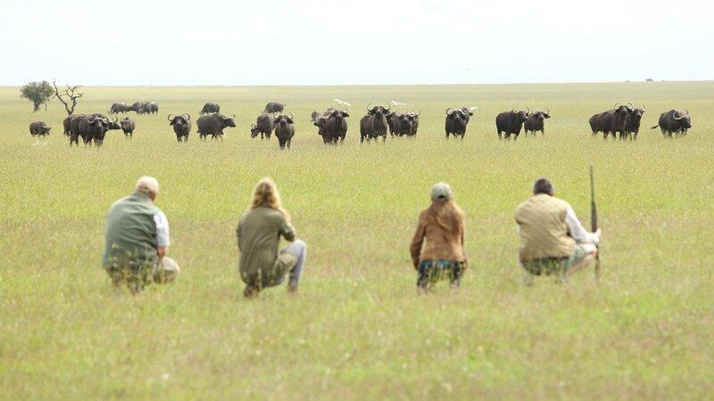Kenia-Ol Pejeta-Ol Pejeta Bush Camp-walking safari