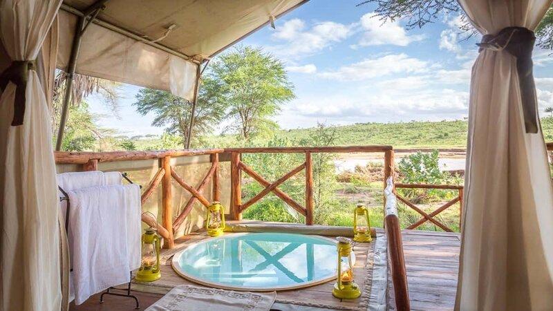 Kenia-Samburu Game Reserve-Elephant Bedroom Camp-plunge pool