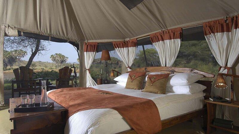Kenia-Samburu Game Reserve-Elephant Bedroom Camp-tent binnen