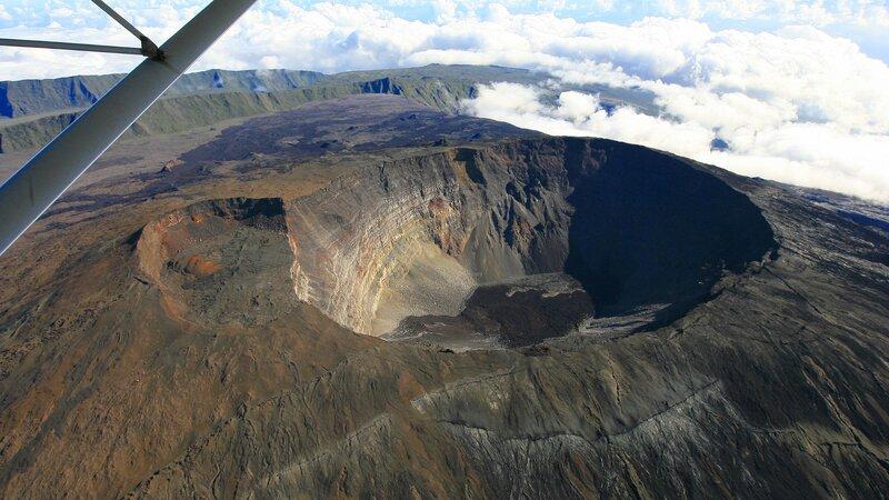 La Reunion-algemeen-helicoptervlucht