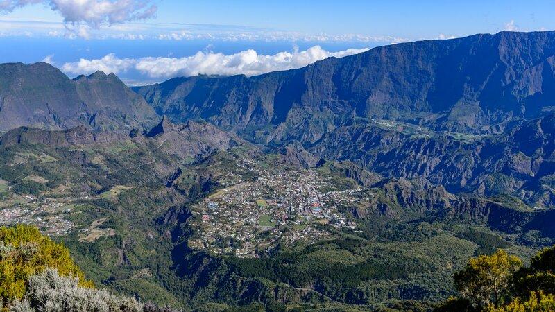 La Reunion-Cirque de Cilaos-hoogtepunt
