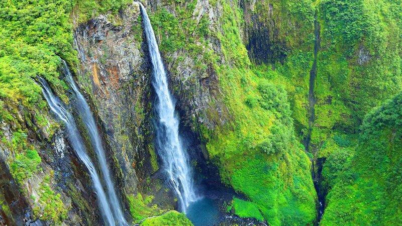 La Reunion-Cirque de Salazie-hoogtepunt-waterval